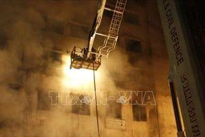 Năm người thiệt mạng do hỏa hoạn tại một bệnh viện điều trị cho bệnh nhân COVID-19