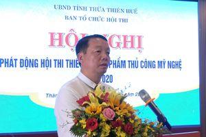 Thừa Thiên Huế: Tổ chức hội thi thiết kế sản phẩm thủ công mỹ nghệ 2020