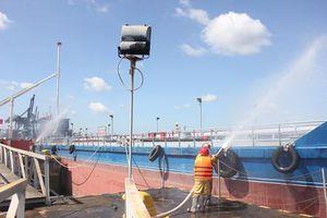 Công ty Nhiệt điện Phú Mỹ diễn tập ứng phó sự cố tràn dầu