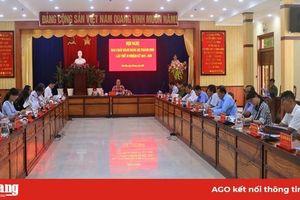 Thành ủy Châu Đốc: Thông qua các nội dung chuẩn bị Đại hội đại biểu Đảng bộ thành phố lần thứ XII (nhiệm kỳ 2020-2025)