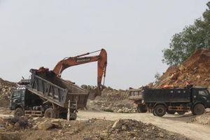 Quản lý chặt hoạt động khai thác đất tại Móng Cái