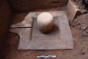 Phát hiện Linga - Yoni liền khối thế kỷ IX lớn nhất Việt Nam