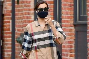 'Chân dài' Irina Shayk đến nhà 'tình cũ' Bradley Cooper ở qua trưa