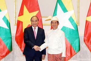 Thư mừng kỷ niệm 45 năm quan hệ Việt Nam-Myanmar