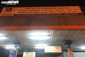 Xử phạt cây xăng 'găm hàng' ở Hà Nội ngay trong đêm
