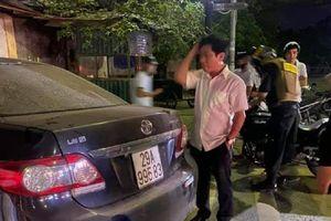 Xem xét kỷ luật Trưởng ban Nội chính Thái Bình gây tai nạn