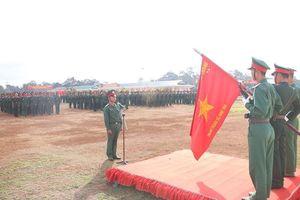 500 chiến sĩ mới Đắk Nông tuyên thệ