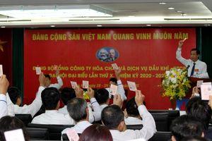 PVChem tổ chức thành công Đại hội Đại biểu Đảng bộ lần thứ X