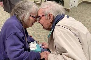 Cuộc đoàn tụ đầy nước mắt của cặp vợ chồng già sau nhiều tháng xa cách