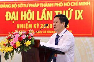 Ông Huỳnh Văn Hạnh tái đắc cử Bí thư Đảng ủy Sở Tư pháp