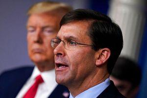 Theo lệnh Trump, Lầu Năm Góc đặt quân cảnh trong tình trạng báo động?