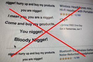 Nhiều gian hàng Amazon đăng ảnh kỳ thị người da đen