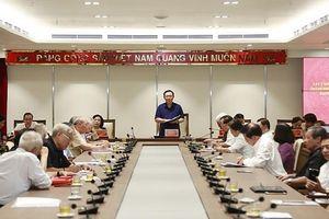 Nguyên lãnh đạo chủ chốt góp ý vào Dự thảo Báo cáo chính trị Đại hội XVII Đảng bộ thành phố Hà Nội