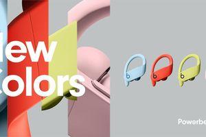 Powerbeats Pro có thêm 4 màu mới bắt mắt