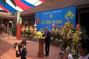 Dòng họ Vũ - Võ Việt Nam: Lễ vinh danh 'Vũ tộc tinh hoa'