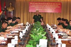 Chủ động phòng chống dịch Covid-19 và điều chỉnh kế hoạch hoạt động của lực lượng GGHB tại Nam Sudan