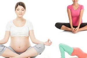 4 bài tập cho mẹ bầu sinh nở nhẹ nhàng, vượt cạn thành công
