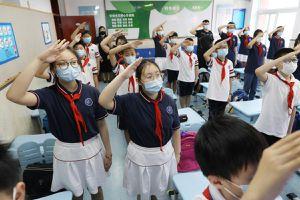 Trung Quốc: Khoảng 400.000 HS Bắc Kinh quay lại trường học