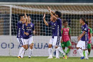Hà Nội FC chạy đà tốt cho trận gặp HAGL