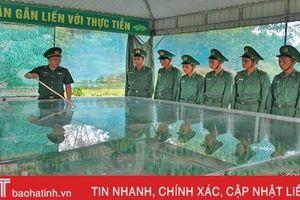 90 chiến sỹ biên phòng Hà Tĩnh sẵn sàng thực hiện nhiệm vụ bảo vệ biên giới