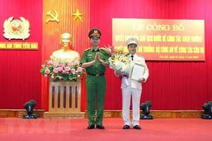 Bổ nhiệm Phó TL Bộ Tư lệnh Cảnh vệ giữ chức Giám đốc Công an Yên Bái