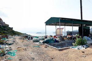 Xử lý rác thải trên đảo Bình Ba: Thiếu kinh phí vận hành