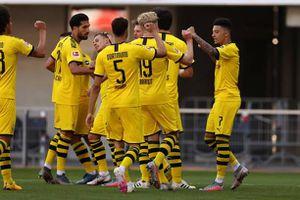 Sancho lập hat-trick, Dortmund sống lại hy vọng vô địch