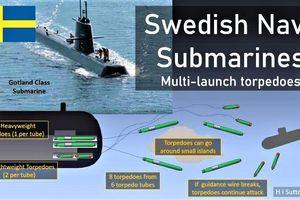 Ba bí quyết tạo nên danh tiếng tàu ngầm Thụy Điển