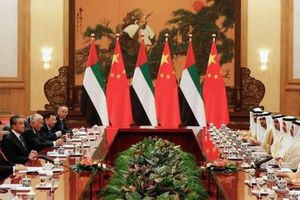 UAE 'tiến thoái lưỡng nan' giữa Mỹ - Trung trong cuộc 'chinh phục' vùng Vịnh