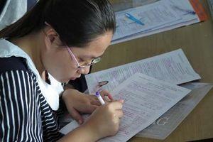 Đọc kỹ khi khai phiếu đăng ký dự thi tốt nghiệp THPT