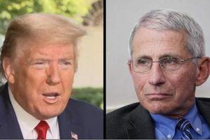 Tổng thống Trump và 'bác sĩ quốc dân' Fauci 'cơm không lành, canh không ngọt' giữa lúc nước Mỹ rối ren?