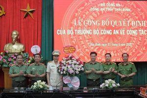 Công an tỉnh Thái Bình có tân Phó Giám đốc