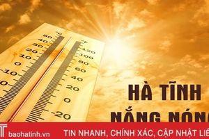 Hà Tĩnh tiếp tục nắng nóng trong nhiều ngày tới