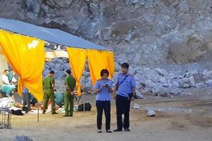 Thông tin mới nhất vụ sập mỏ đá kinh hoàng khiến ba người thiệt mạng tại Điện Biên