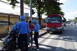 Thanh tra GTVT mở rộng triển khai xử lý vi phạm xe vận tải hành khách khu vực bến xe Giáp Bát, Nước Ngầm