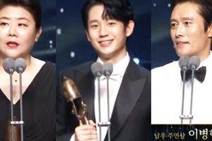 Toàn cảnh 'Oscar Hàn Quốc' lần thứ 56: Parasite thắng lớn nhưng vẫn thua Lee Byung Hun ở hạng mục cực quan trọng