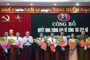 Thường trực Tỉnh ủy Quảng Bình điều động, bổ nhiệm 25 cán bộ chủ chốt