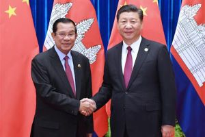 Ông Hun Sen phủ nhận Trung Quốc có đặc quyền ở căn cứ hải quân Campuchia