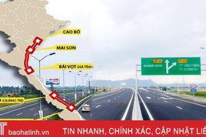 Cao tốc Bắc - Nam: Hà Nội đi Hà Tĩnh chỉ hơn 4 giờ