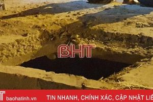 Phó Thủ tướng yêu cầu làm rõ vụ cháu bé tử vong do rơi xuống hố ga ở Hà Tĩnh