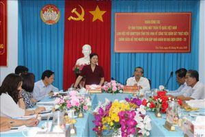 Giám sát việc thực hiện chính sách hỗ trợ người dân gặp khó do đại dịch COVID-19 tại Trà Vinh