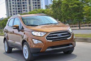 Giá lăn bánh Ford EcoSport sau khi giảm 50% phí trước bạ