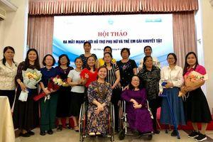 Ra mắt mạng lưới hỗ trợ phụ nữ và trẻ em gái khuyết tật