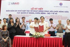 8 tổ chức phi chính phủ ký kết Biên bản ghi nhớ với Cục Quản lý Khám, chữa bệnh - Bộ Y tế