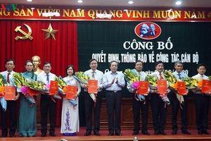 Điều động, bổ nhiệm nhiều vị trí lãnh đạo ở Quảng Bình