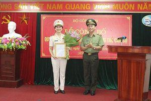 Một nữ tướng được bổ nhiệm Cục trưởng Cục Hồ sơ nghiệp vụ