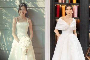Á hậu Thúy Vân diện váy áo trắng để tôn vẻ đẹp dịu dàng