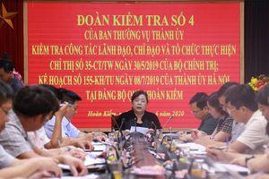 Phó Bí thư Thành ủy Nguyễn Thị Bích Ngọc: Bám sát tình hình, không để xảy ra phức tạp trong tổ chức Đại hội
