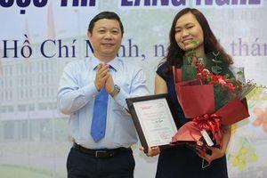 Toàn cảnh lễ trao giải cuộc thi 'Lắng nghe người dân hiến kế' của Báo Người Lao Động
