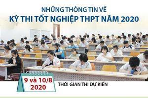 Những thông tin về kỳ thi tốt nghiệp THPT năm 2020